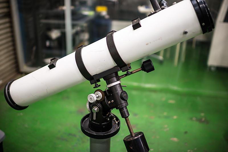 ビクセン製ポラリス赤道儀10cmF10ニュートン望遠鏡