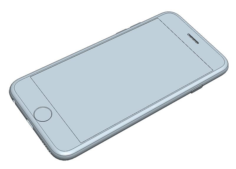 iPhone6 CAD Model