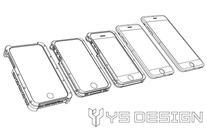 iPhone 3 4 5 6 6Plus