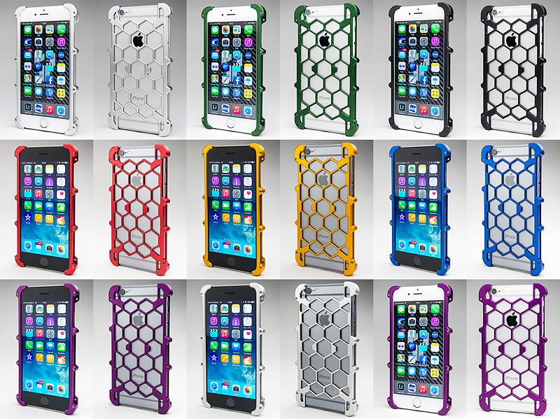 iPhone 6用プロテクターケース バリエーション