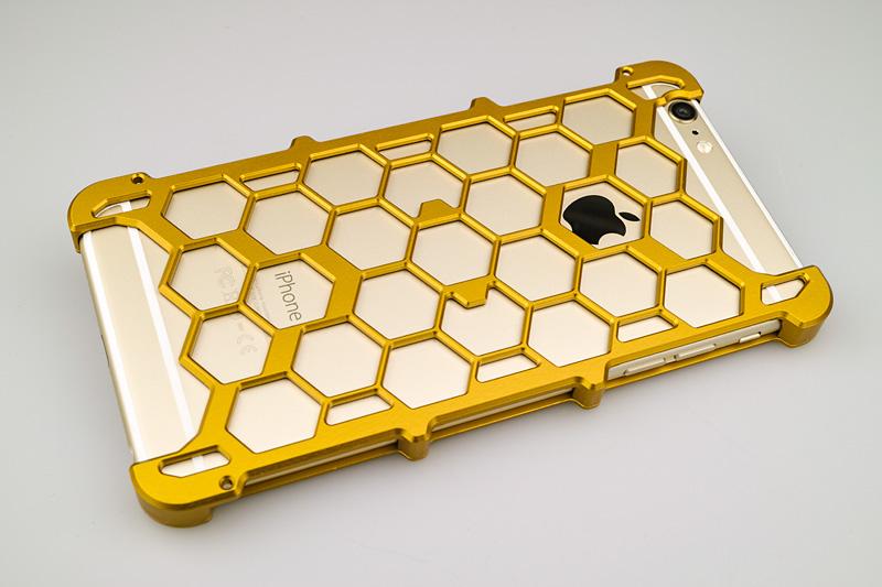iPhone 6Plus用プロテクターケース オレンジ